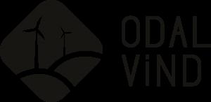 Odal Vindkraftverk sin Logo i svart