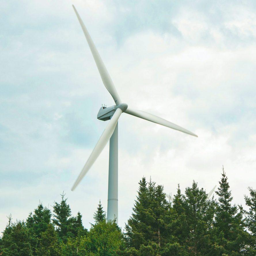 Odal Vindkraftverk - Vindmølle eksempel